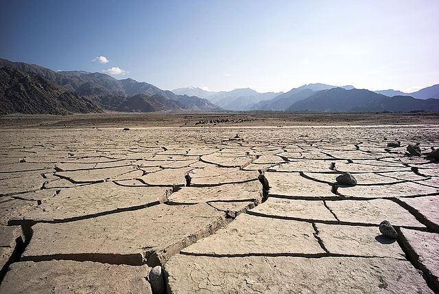 India's drought has reportedly affected hundreds of millions of people. (By Christopher Michel - Ladakh, India, CC BY 2.0, https://commons.wikimedia.org/w/index.php?curid=37116584)