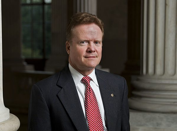 Jim Webb served as a U.S. Senator from Virginia from 2006 to 2012 and was secretary of the navy during the Reagan administration. (Photo by United States Senate via Wikimedia Commons)