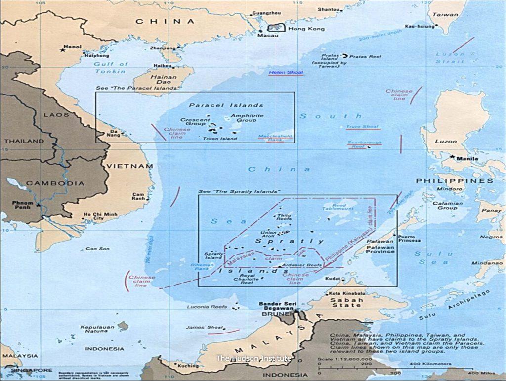 South China Sea map 2